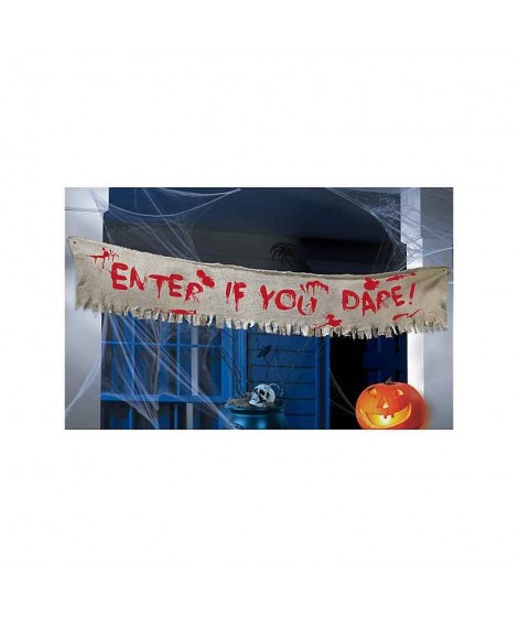 Enter if you Dare banner,