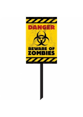 Beware of the Zombies bord